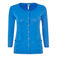 Buy White Stuff Samphire Cardigan, Blue Online at johnlewis.com