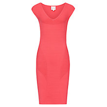 Buy Reiss Perrie Bodycon Dress, Papaya Online at johnlewis.com