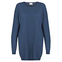 Buy East Merino Button Back Jumper Online at johnlewis.com