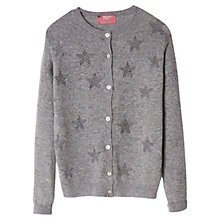 Buy Mango Kids Girls' Star Pattern Cotton Cardigan Online at johnlewis.com