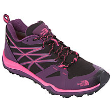 Buy The North Face Hedgehog Fastpack Lite Women's Hiking Shoes, Purple/Pink Online at johnlewis.com
