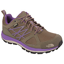 Buy The North Face Women's Litewave Gore-Tex Hiking Shoe, Brown/Purple Online at johnlewis.com