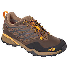 Buy The North Face Hedgehog GTX Men's Hiking Shoes, Brown/Orange Online at johnlewis.com