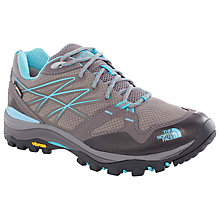 Buy The North Face Hedgehog Fastpack GTX Women's Approach Hiking Shoe, Grey/Blue Online at johnlewis.com