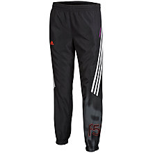 Buy Adidas Boy's F50 Woven Training Trousers, Black Online at johnlewis.com
