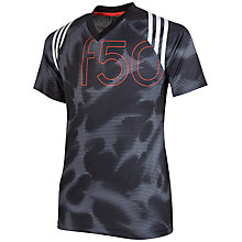 Buy Adidas Boys' F50 Training T-Shirt Online at johnlewis.com