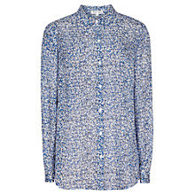 Buy Reiss Barkley Shirt, Blue Tropic Online at johnlewis.com