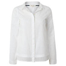 Buy White Stuff Simplicity Shirt, Cloud White Online at johnlewis.com