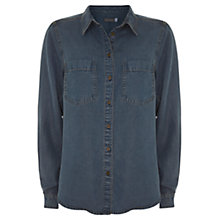 Buy Mint Velvet Indigo Denim Shirt, Blue Online at johnlewis.com