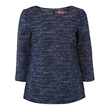Buy White Stuff Statement Top, Navy Online at johnlewis.com