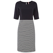 Buy White Stuff Mix Up Dress, Navy Online at johnlewis.com