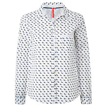 Buy White Stuff Bird Shirt, White Wash Online at johnlewis.com