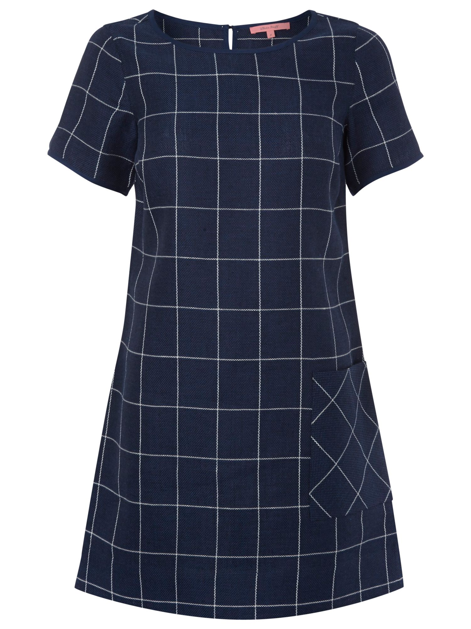 white stuff echo tunic dress navy, white, stuff, echo, tunic, dress, navy, white stuff, 12|14, women, brands l-z, womens dresses, special offers, womenswear offers, womens dresses offers, latest reductions, 1833573