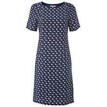 Buy White Stuff Rivet Birdie Dress, Navy Online at johnlewis.com