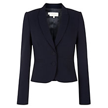 Buy Hobbs Camille Jacket, Navy Online at johnlewis.com