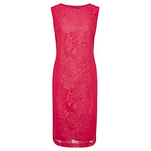 Buy Viyella Burnout Jacquard Shift Dress, Rose Online at johnlewis.com