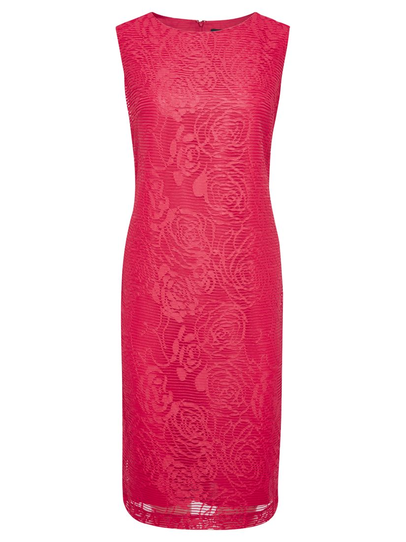 viyella burnout jacquard shift dress rose, viyella, burnout, jacquard, shift, dress, rose, 8|18|14|10|16|20|12, women, womens dresses, special offers, womenswear offers, up to 30% off selected viyella, 1831306