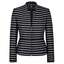 Buy Viyella Striped Jacket, Navy Online at johnlewis.com