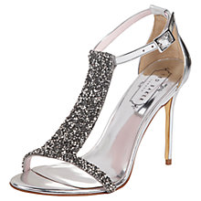 Buy Ted Baker Pwimwrose Crystal Leather Sandals Online at johnlewis.com