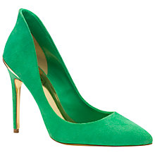 Buy Ted Baker Savenniers Suede High Heeled Court Shoes Online at johnlewis.com