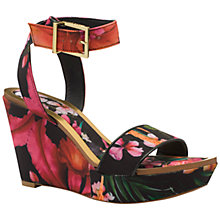 Buy Ted Baker Cristata Wedge Heeled Sandals Online at johnlewis.com