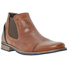 Buy Dune Chili Toecap Chelsea Boot, Tan Online at johnlewis.com