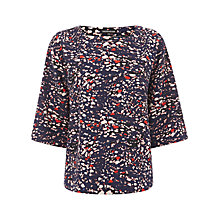 Buy Warehouse Abstract Print Boxy Top, Multi Online at johnlewis.com