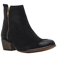 Buy Steve Madden Nyrvana Leather Ankle Boots Online at johnlewis.com