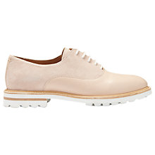 Buy Whistles Fayley Leather Cleated Sole Brogues, Blonde Online at johnlewis.com