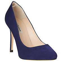 Buy L.K. Bennett Hazel Suede Stiletto Court Heels Online at johnlewis.com