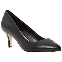 Buy Dune Anne Leather Court Heels Online at johnlewis.com