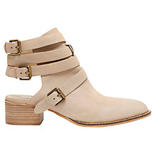 Buy Mint Velvet Caley Nubuck Shoe Boots, Stone Online at johnlewis.com