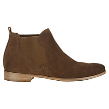 Buy Jigsaw Pixie Leather Chelsea Boots Online at johnlewis.com