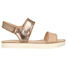 Buy Whistles Holly Cleated Sole Sandals, Rose Gold Online at johnlewis.com