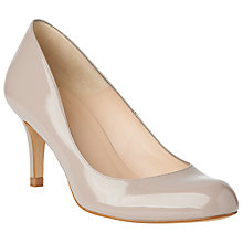 Buy L.K. Bennett Opal Leather Stiletto Court Heels, Clay Patent Online at johnlewis.com