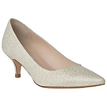 Buy L.K. Bennett Minu Toe Point Kitten Heels Online at johnlewis.com