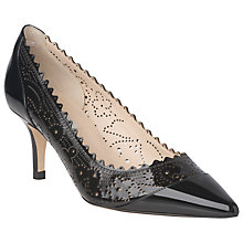 Buy L.K. Bennett Becka Patent Court Shoes Online at johnlewis.com