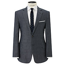 Buy John Lewis Classic Linen Suit Jacket, Grey Online at johnlewis.com