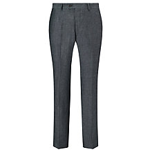 Buy John Lewis Classic Linen Suit Trousers, Grey Online at johnlewis.com