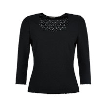 Buy Precis Petite Textured Jersey Top Online at johnlewis.com