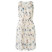 Buy Jigsaw Tinted Bloom Silk Dress, Multi Online at johnlewis.com