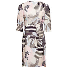 Buy Whistles Maya Floral Darcy Dress, Multi Colour Online at johnlewis.com