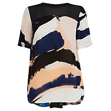 Buy Warehouse Hologram Print Top, Multi Online at johnlewis.com