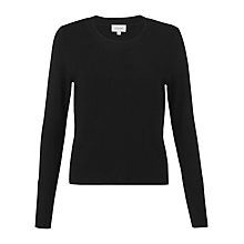Buy Jigsaw Ottoman Crew Neck Jumper Online at johnlewis.com
