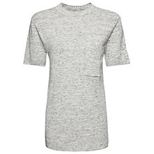 Buy Whistles Pocket T-shirt, Grey Online at johnlewis.com