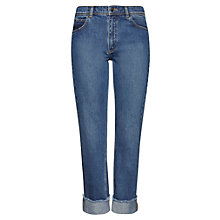 Buy Whistles Relaxed Boyfriend Jeans, Denim Online at johnlewis.com