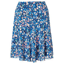Buy Jigsaw Spring Bloom Flippy Hem Skirt, Multi Online at johnlewis.com