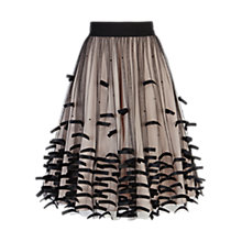 Buy Coast Roonley Skirt, Black Online at johnlewis.com
