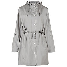 Buy Windsmoor Hooded Parka Coat, Light Grey Online at johnlewis.com