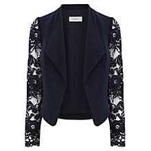 Buy Coast MIrette Jacket, Navy Online at johnlewis.com
